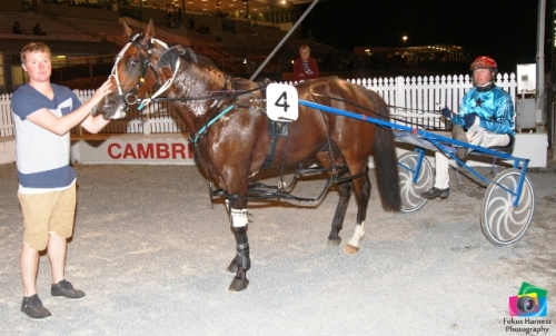 Destination Moon, winner Cambridge 27 March 2014. Photo: Fokus Harness Photography