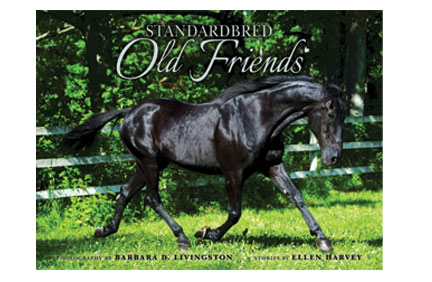 Cover of Standardbreds Old Friends book
