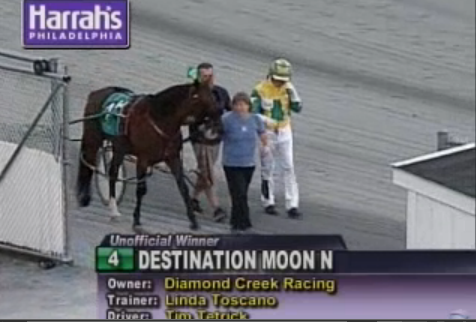 Destination Moon win 10 Oct 2014 race 14