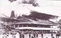 Addington main stand fire