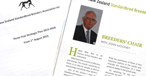 John Mooney and NZSBA Strategic Plan